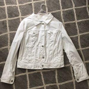 Old Navy Jackets & Coats - White jean jacket